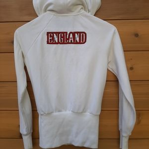 Adidas White England Hoodie World Cup 1982 Tribute